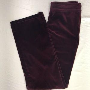 Vintage Bloomingdales High Waist Velvet Pants
